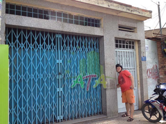 Nhà cho thuê nguyên căn mặt tiền đường Tân Sơn