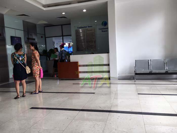 văn phòng cho thuê quận 1, tòa nhà continental tower đường hàm nghi phường bến nghé, quận 1, office for lease in district 1, hcmc