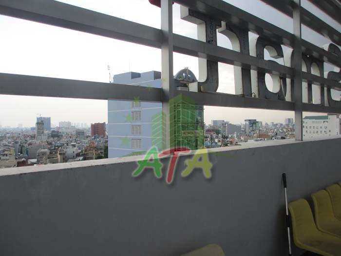 Hướng view từ van phong cho thue Binh Thanh thông thoáng, view đến trung tâm