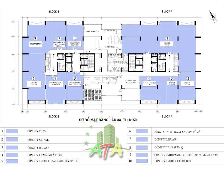 văn phòng cho thuê quận 4, tòa nhà Copac building, office for lease in D4, HCMC