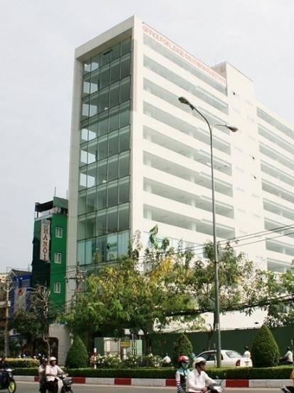 Tòa nhà ATHENA Building mặt tiền cộng hòa