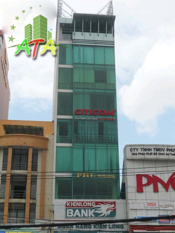 Tòa nhà PHL Building, đường Cộng Hòa, quận Tân Bình