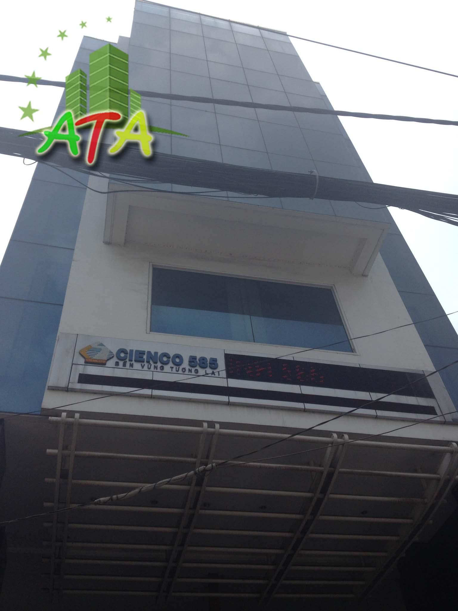 Văn phòng cho thuê Cienco 585 Building, đường D2, quận Bình Thạnh