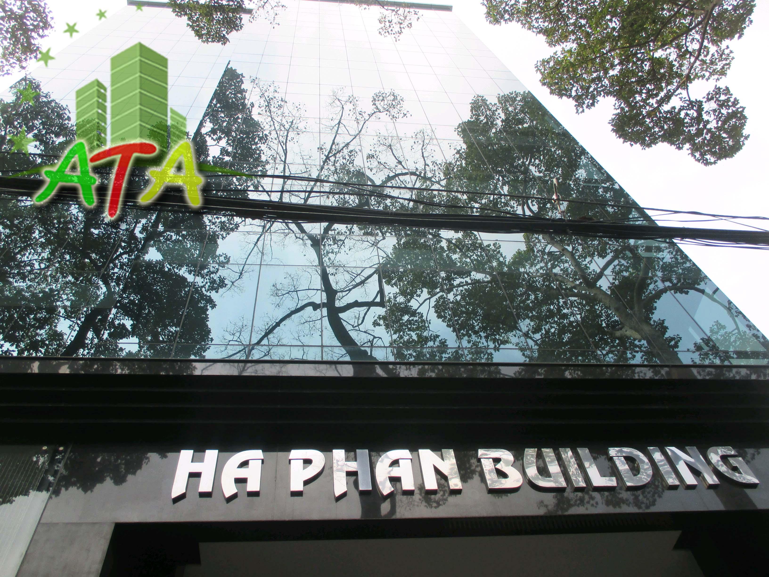 Văn phòng cho thuê Hà Phan Building, đường Phan Xích Long, quận Phú Nhuận
