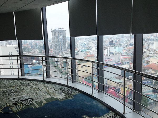view từ trên cao tòa nhà văn phòng quận 3 bảo mình bảo tower