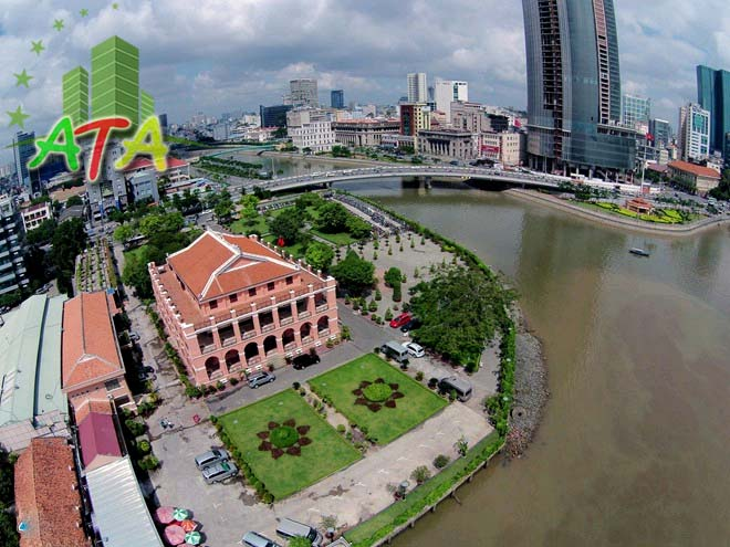 văn phòng cho thuê quận 4 - Tòa nhà Cảng Sài Gòn - Đường Nguyễn Tất Thành - Office for lease in HCMC