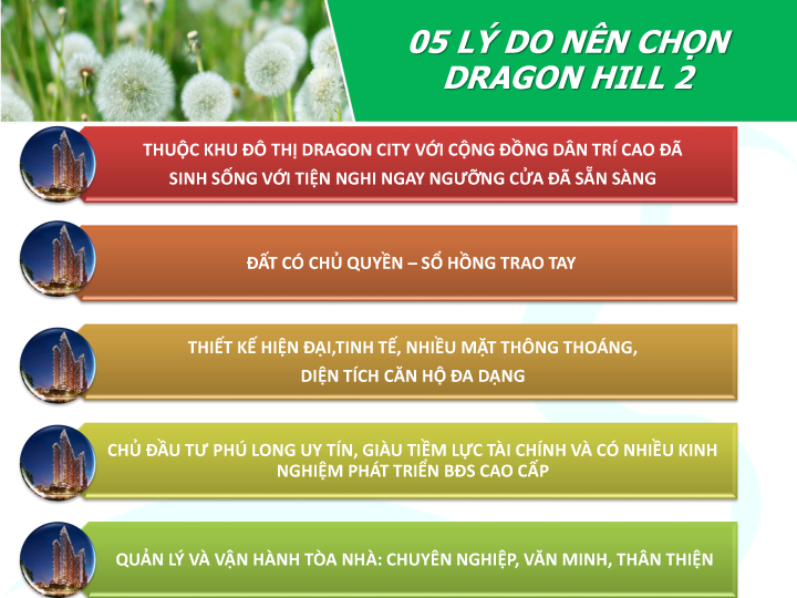 5 lý do bạn nên đầu tư vào mua căn hộ dragon hill 2