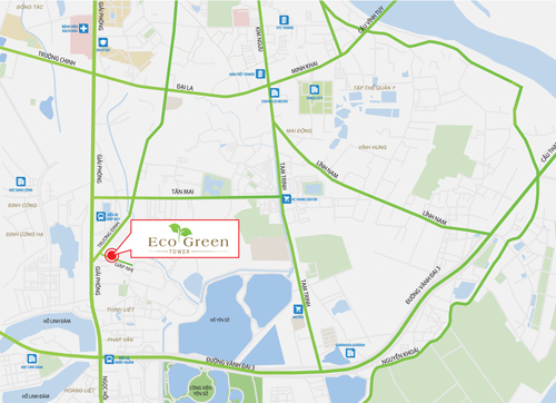 Hạ tầng giao thông lôi cuốn khách hàng đến với Eco Green Tower